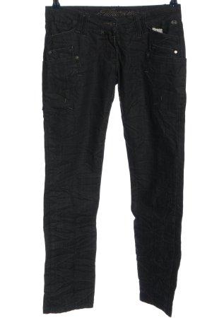 Timezone Jeans coupe-droite noir style décontracté