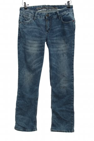 Timezone Straight-Leg Jeans blau Casual-Look