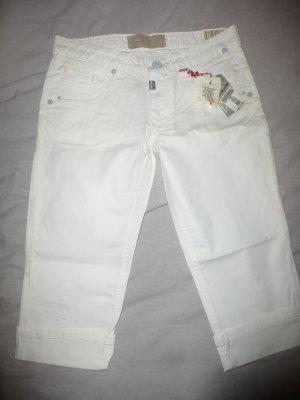 Timezone - Tali TZ Hose Jeans 3/4 Länge Caprijeans weiß W28 NEU