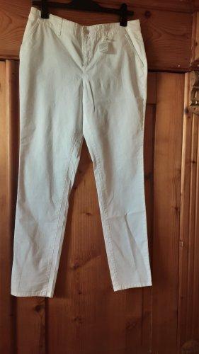 Timezone Pantalon en jersey blanc
