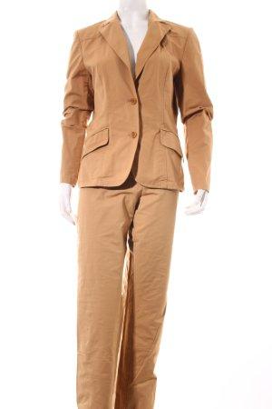 Tintoretto Hosenanzug camel Business-Look