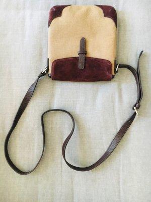 Tipptopp Chi Chi Fan Tasche, Umhängetasche, Crosbody-Tasche, Handtasche, Rauhleder