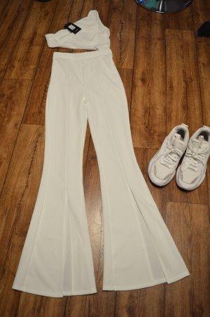 Tips And Tricks One Shoulder Jumpsuit - White 36 Fashion Nova