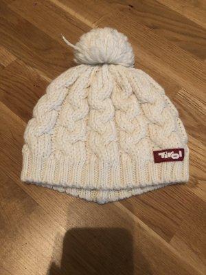 Tirol Mütze weiß