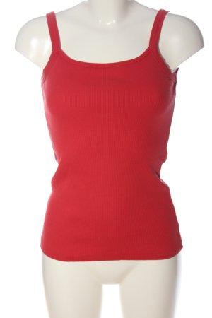 Tita Top basic rosso stile casual