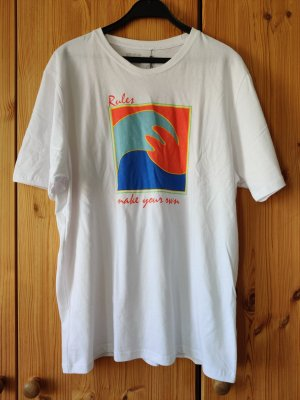 Titus Rules Ripple T-Shirt XL weiß mit Druck