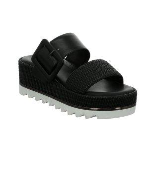 Tizian Platform High-Heeled Sandal black