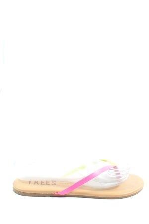 Tkees Dianette-Sandalen pink-blassgelb Casual-Look