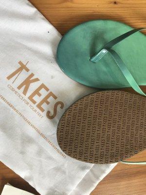 Tkees Flip Flops türkis-grün