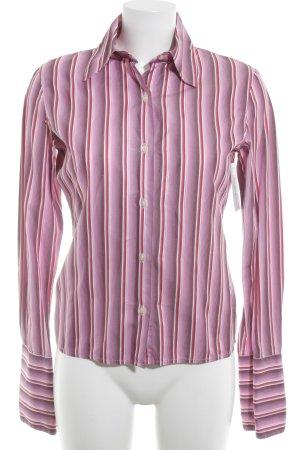 TM Lewin Hemd-Bluse Streifenmuster Business-Look