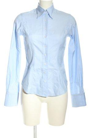 TM Lewin Langarmhemd blau Business-Look