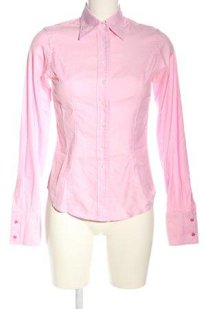 TM Lewin Langarmhemd pink Business-Look