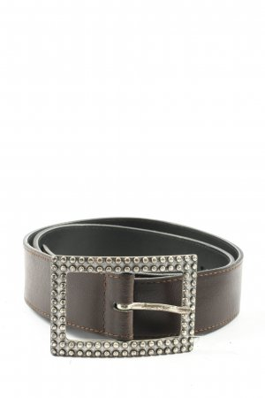 TMC Leather Belt brown casual look