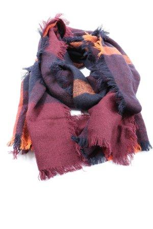 TMC Sciarpa lavorata a maglia multicolore stile casual