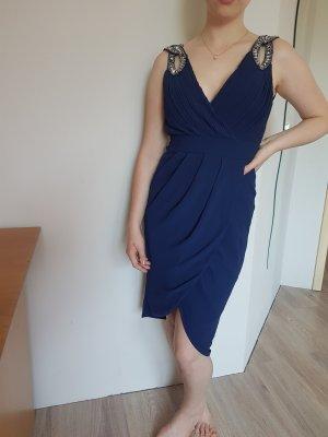 TNFC Abendkleid blau 36(8) NEU