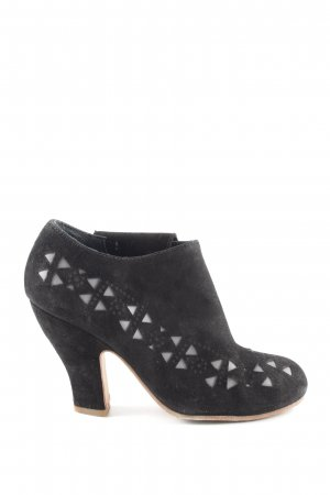Camper Booties schwarz Casual-Look