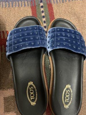 Tods Outdoor sandalen blauw