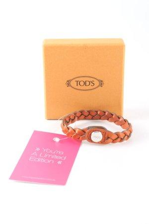 Tod's Armband hellorange Casual-Look