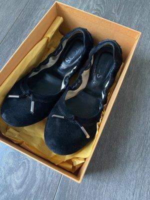 Ballerines Mary Jane noir cuir