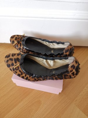Tod's Foldable Ballet Flats multicolored fur