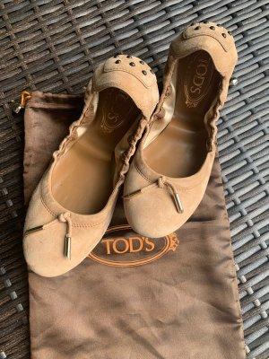Tod's Ballerinas Schuhe Leder so schöööön!
