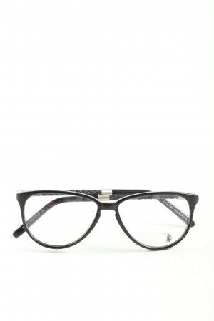 Tod's Brille schwarz Business-Look