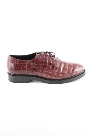 Tod's Budapest schoenen bruin dierenprint casual uitstraling