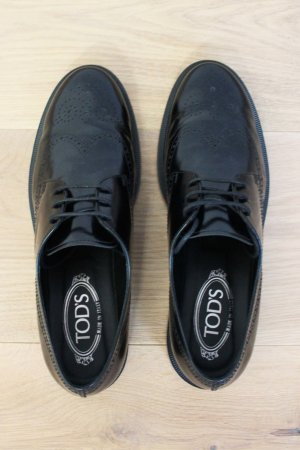 Tod's Lace Shoes black leather