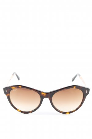 Tod's Butterfly Brille Allover-Druck Casual-Look