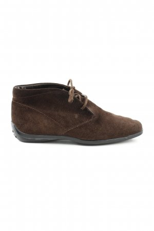 Tod's Scarpa Derby marrone stile casual