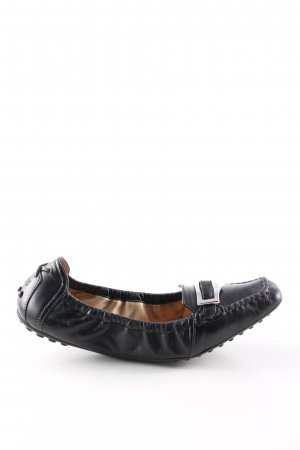 Tod's faltbare Ballerinas schwarz Business-Look