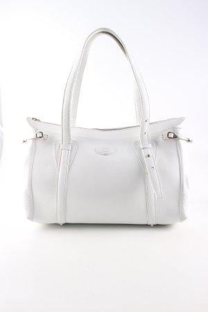 Tod's Handtasche weiß Casual-Look