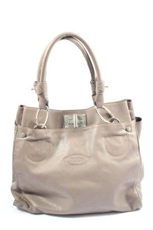 Tod's Handbag light grey-silver-colored casual look