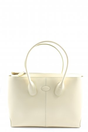 Tod's Carry Bag natural white business style