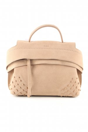 Tod's Sac Baril rose chair style décontracté