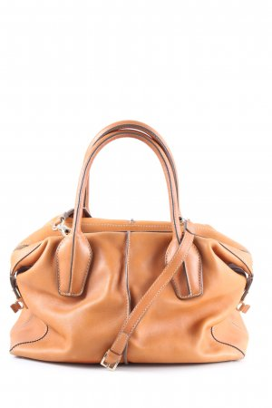 Tod's Henkeltasche hellorange Business-Look