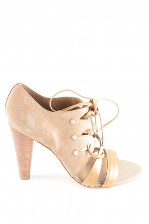 Tod's High Heel Sandaletten creme Elegant