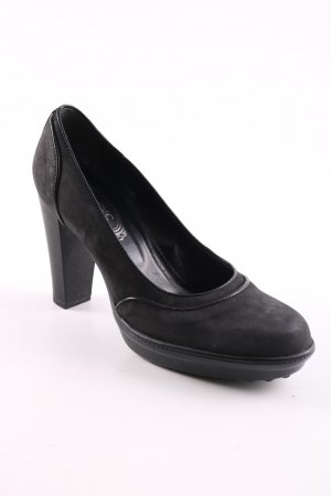 Tod's High Heels schwarz Business-Look