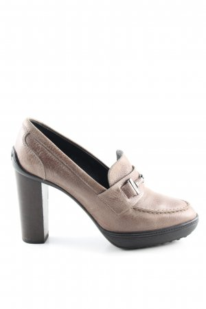 Tod's High Heels brown business style
