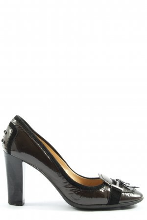Tod's High Heels braun Casual-Look