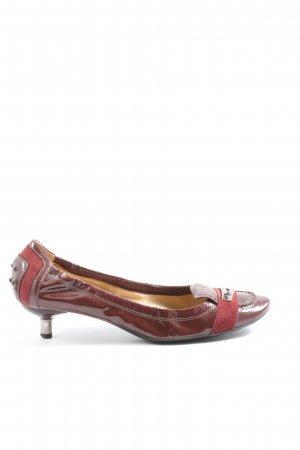 Tod's Hochfront-Pumps rot Casual-Look