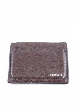 Tod's Card Case brown business style