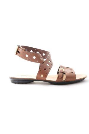Tod's Komfort-Sandalen braun Casual-Look