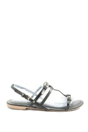 Tod's Comfortabele sandalen zwart casual uitstraling
