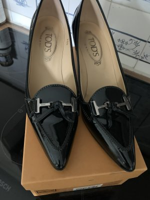 Tod's Backless Pumps black