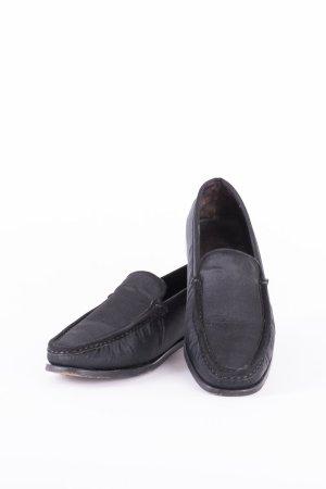 TOD'S - Loafers mit Satinbesatz Schwarz