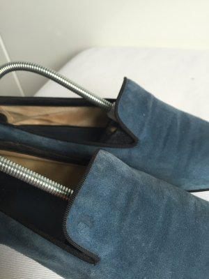 Tod's Loafers, Wildleder, dunkelblau