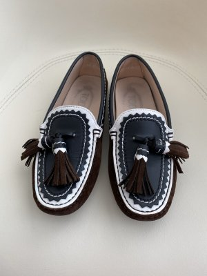 Tod's Moccasins multicolored leather