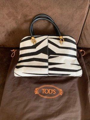 Tod's Shoulder Bag white-black