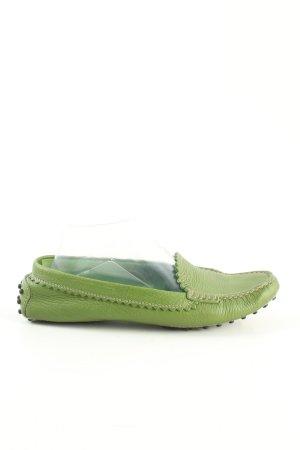 Tod's Mocassino verde stile casual